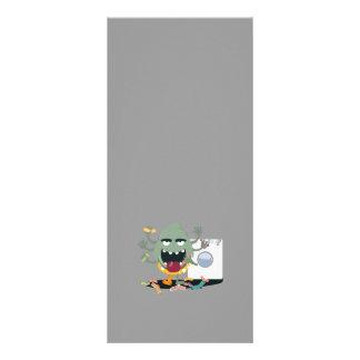 Sock Monster Rack Card