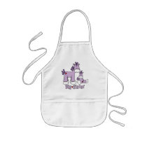 Sock Ponies Big Sister Kids' Apron