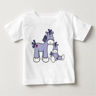 Sock Ponies Blue Baby T-Shirt