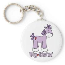 Sock Pony Big Sister Keychain