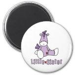 Sock Pony Little Sister Fridge Magnet