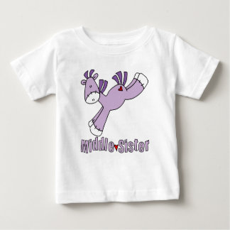 Sock Pony Middle Sister Baby T-Shirt