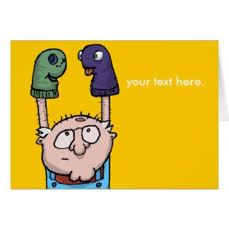 Sock Puppet Conspiracy Card