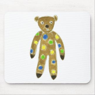 Sock Teddy Bear Mouse Pad