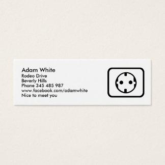 Socket Mini Business Card