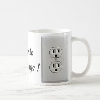 Socket To Me Coffee Mug