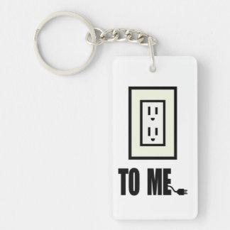 Socket To Me Keychain