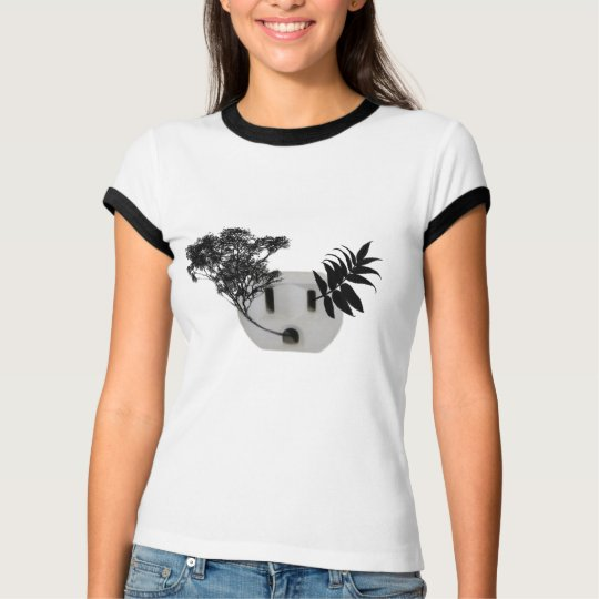 Socket with Plants T-Shirt