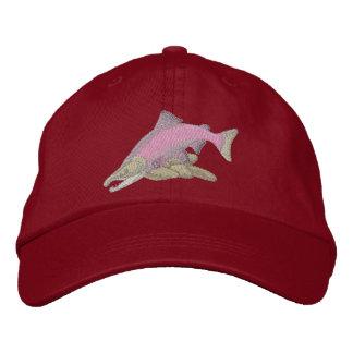 Sockeye Salmon Embroidered Baseball Caps