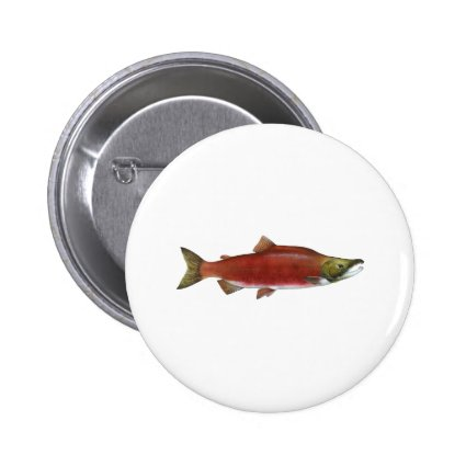 Sockeye Salmon Pin