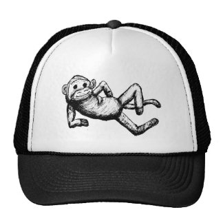 sockmonkey atractivo gorras de camionero