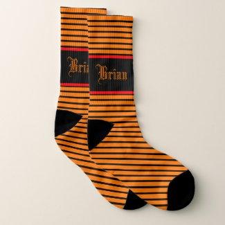 Socks For Fall In Orange