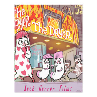 Socks Horror Films The Dryer Funny Letterhead