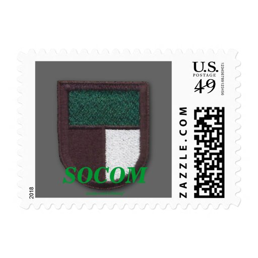 SOCOM 1st Special operations command Postage stamp