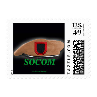 SOCOM Special operations command flash son Postage