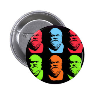Socrates Collage Button