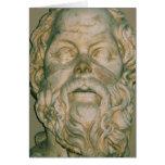 Sócrates del filósofo tarjetas