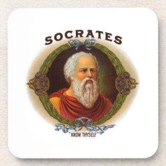 Socrates Drink Coasters