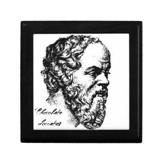 Sócrates: El hombre Joyero Cuadrado Pequeño