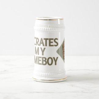 Sócrates es mi Homeboy Jarra De Cerveza