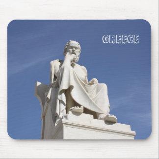 Sócrates Grecia Mousepad Tapetes De Raton