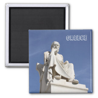 Socrates Greece Magnet Refrigerator Magnets