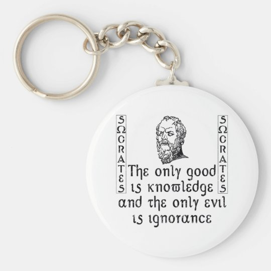 Socrates Keychain