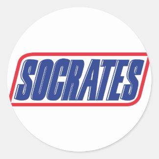 Sócrates Etiquetas Redondas