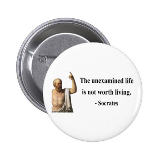 Socrates Quote 2b Pinback Button