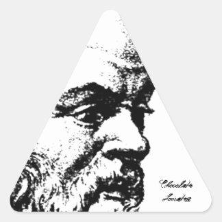 Socrates: The Man Triangle Sticker