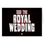 Sod el boda real tarjetón