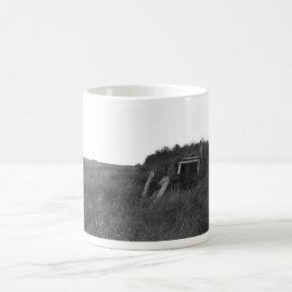 Sod House Remains on Tundra Mugs