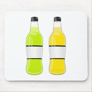 Soda Bottles Mousepad