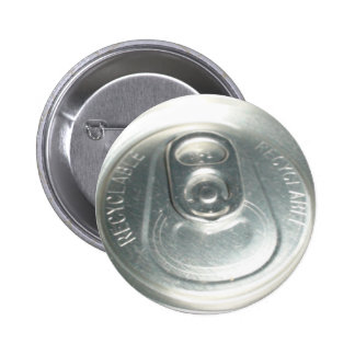 Soda can pinback buttons