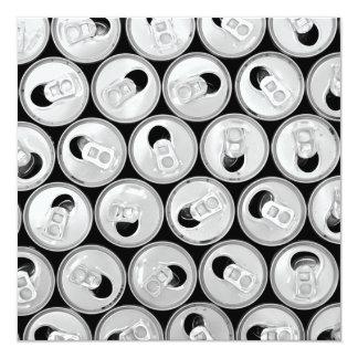 Soda Can Lids Pattern Card
