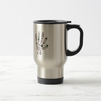 Soda can pull tab hand mug