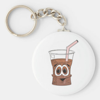 Soda Cartoon Keychain