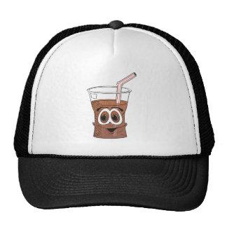 Soda Cartoon Trucker Hat