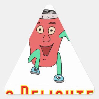Soda Dance Triangle Sticker