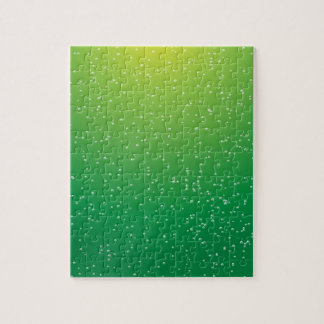 Soda de la cal con arte minúsculo del fondo de las puzzle con fotos