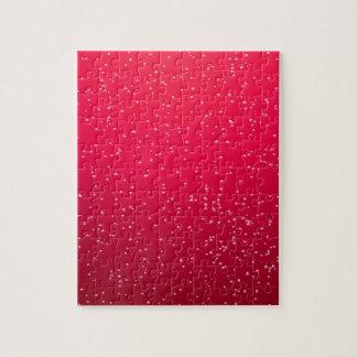 Soda de la cereza con arte minúsculo del fondo de puzzles