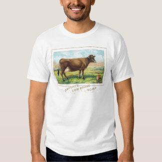 Soda de la marca de la vaca de Dwight Playeras