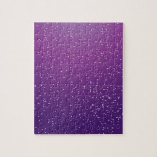 Soda de la uva con arte minúsculo del fondo de las puzzles