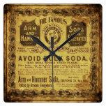Soda del vintage relojes
