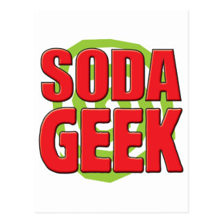 Soda Geek Post Cards