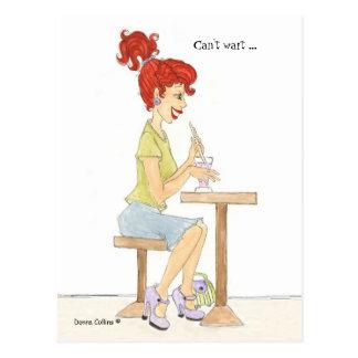 Soda Girl Post Cards