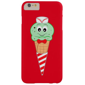 Soda Jerk Ice Cream Cone Mint Chocolate Chip Barely There iPhone 6 Plus Case