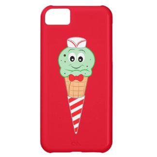 Soda Jerk Ice Cream Cone Mint Chocolate Chip iPhone 5C Covers