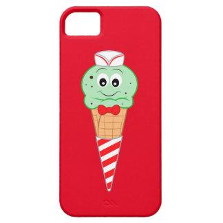 Soda Jerk Ice Cream Cone Mint Chocolate Chip iPhone SE/5/5s Case