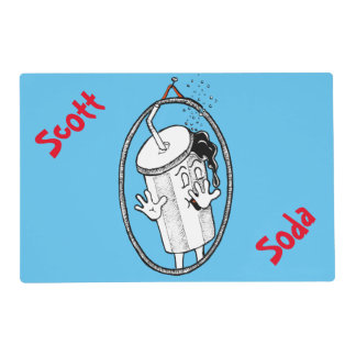 Soda Placemat de Scott Salvamanteles